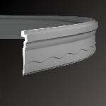 Арт.1.50.268FLEX Карниз-флекс 2000х33х170мм